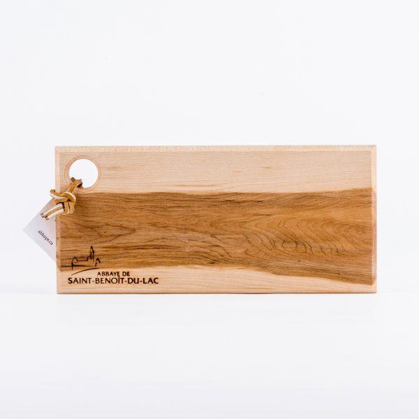 Planche à fromage en bois d'érable